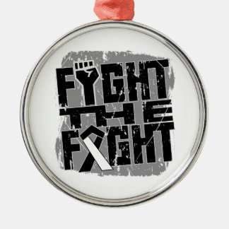 Carcinoid Cancer Fight The Fight Ornaments