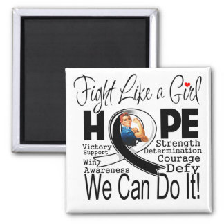 Carcinoid Cancer Fight We Can Do It Fridge Magnet