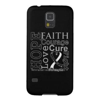 Carcinoid Cancer Hope Faith Motto Galaxy S5 Case