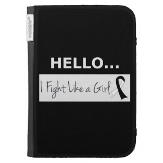 Carcinoid Cancer I Fight Like a Girl Case For The Kindle