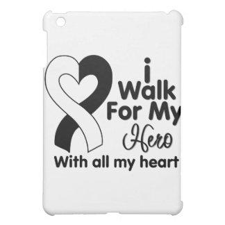 Carcinoid Cancer I Walk For My Hero iPad Mini Cases