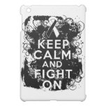 Carcinoid Cancer Keep Calm and Fight On Cover For The iPad Mini