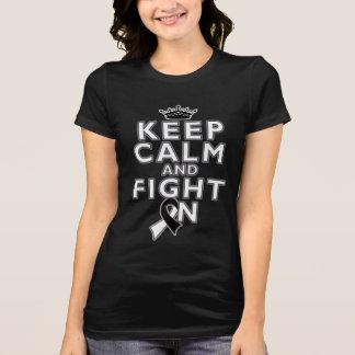 Carcinoid Cancer Keep Calm Fight On Shirts