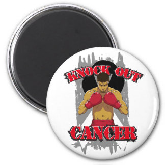 Carcinoid Cancer Knock Out Cancer Fridge Magnet