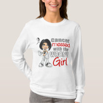 Carcinoid Cancer Messed With Wrong Girl.png T-Shirt