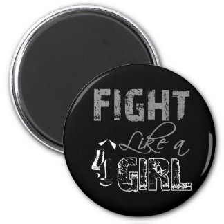 Carcinoid Cancer Ribbon Gloves Fight Like a Girl Magnet