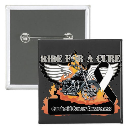 Carcinoid Cancer Ride For a Cur Buttons