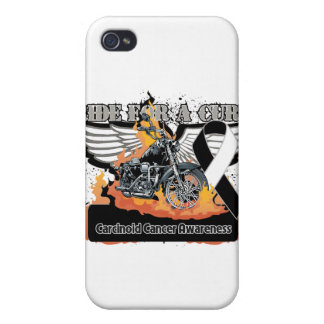 Carcinoid Cancer Ride For a Cur Covers For iPhone 4