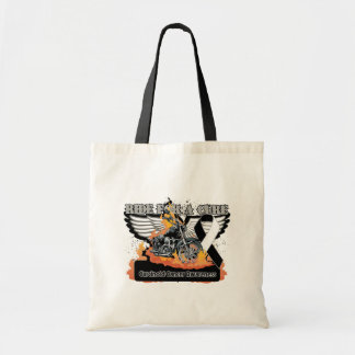 Carcinoid Cancer Ride For a Cur Tote Bags