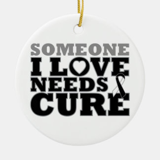 Carcinoid Cancer Someone I Love Needs A Cure Christmas Tree Ornament
