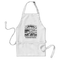 Carcinoid Cancer Strongest Among Us Adult Apron