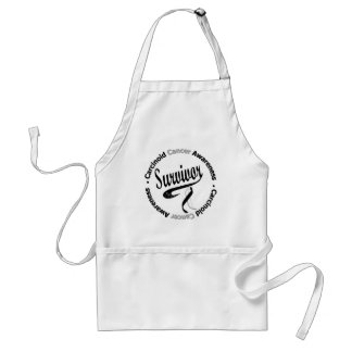 Carcinoid Cancer Survivor Circle Adult Apron