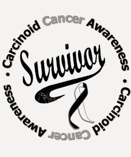 Carcinoid Cancer Survivor Circle Shirt