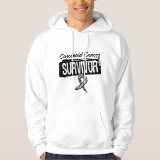 Carcinoid Cancer Survivor Grunge Style Sweatshirts