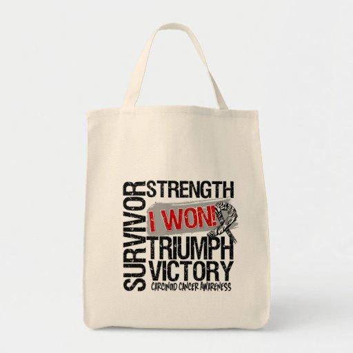 Carcinoid Cancer Survivor I Won Bags