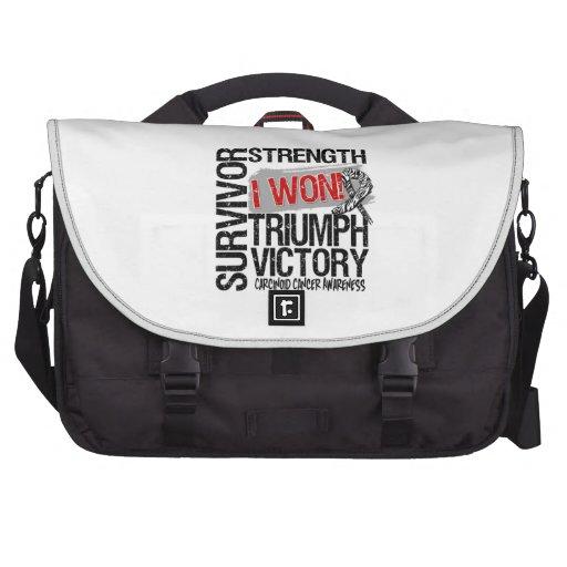 Carcinoid Cancer Survivor I Won Computer Bag