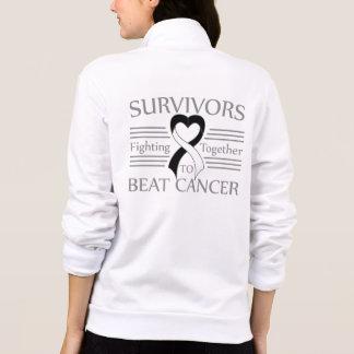 Carcinoid Cancer Survivors Fighting Together Printed Jacket