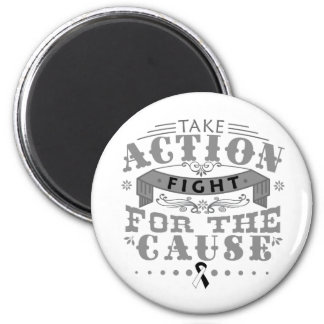Carcinoid Cancer Take Action Fight For The Cause Fridge Magnet