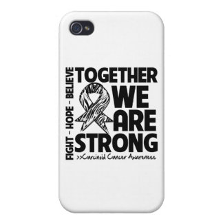 Carcinoid Cancer Together We Are Strong iPhone 4/4S Case