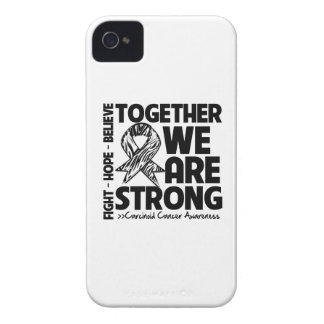 Carcinoid Cancer Together We Are Strong iPhone 4 Case
