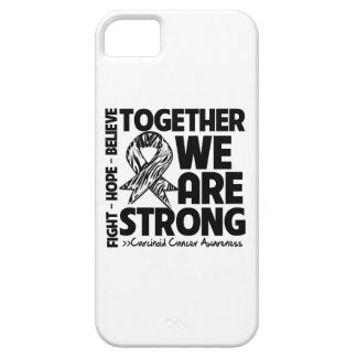 Carcinoid Cancer Together We Are Strong iPhone 5 Cover