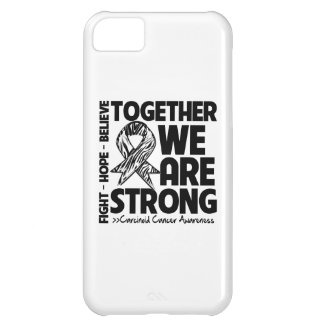 Carcinoid Cancer Together We Are Strong iPhone 5C Case
