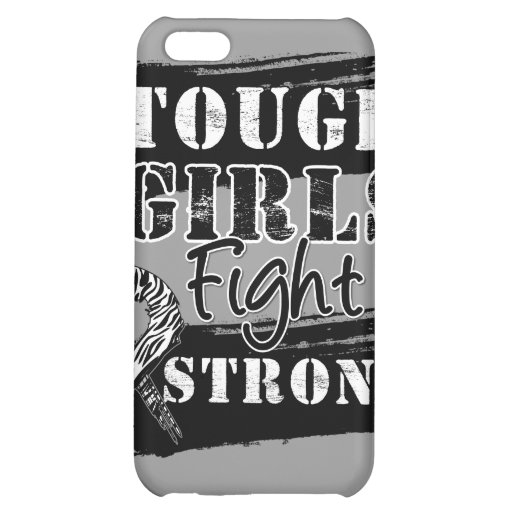 Carcinoid Cancer Tough Girls Fight Strong Cover For iPhone 5C