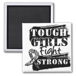 Carcinoid Cancer Tough Girls Fight Strong Fridge Magnets