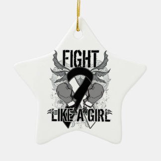 Carcinoid Cancer Ultra Fight Like A Girl Ornaments