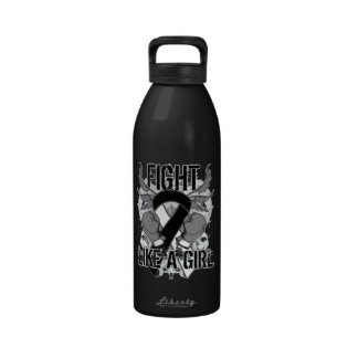 Carcinoid Cancer Ultra Fight Like A Girl Water Bottle