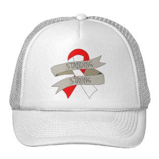 Carcinoma de células escamosas que se coloca gorras de camionero