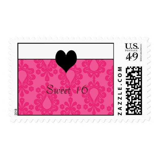 card2 copia, dulce 16 sellos postales