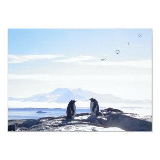 "Card ""2015 Antarctica"" 5"" X 7"" Invitation Card"