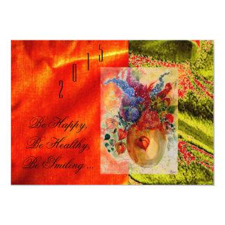 "Card ""2015"" 5"" x 7"" invitation card"