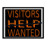 CARD.232.HOME.MOVE.HELP.VISITORS QUERIDO TARJETAS POSTALES