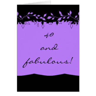 CARD_40 AND FABULOUS CARD