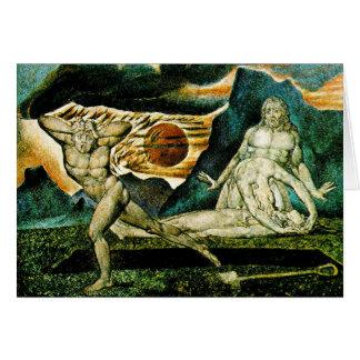 Card: Abel Found by Adam & Eve Card