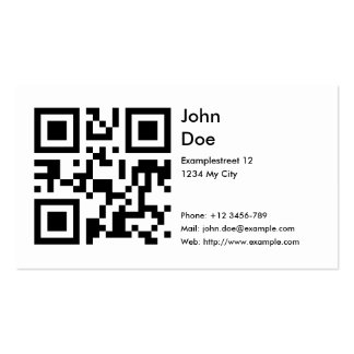 Card address phone email web business card