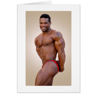 Card, Anthony Marmon, #33E Greeting Card