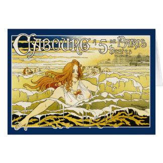 Card:  Art Nouveau -  Casino de Cabourg Card
