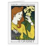 Card: Art Nouveau: Grasset Salon des Cent