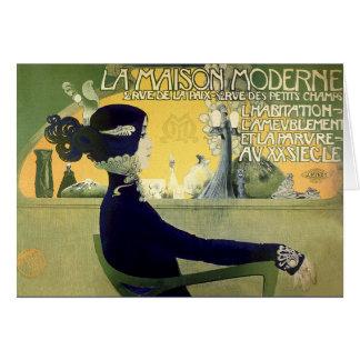 Card:  Art Nouveau - Henri Privat-Livemont Card