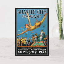 Card: Atlantic City Beauty Pageant Holiday Card