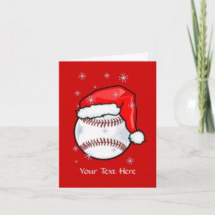 card baseball christmas - Baseball Christmas