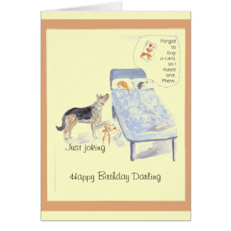 Card birthday for her