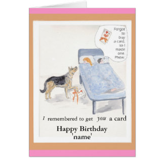 Card birthday for her Add name