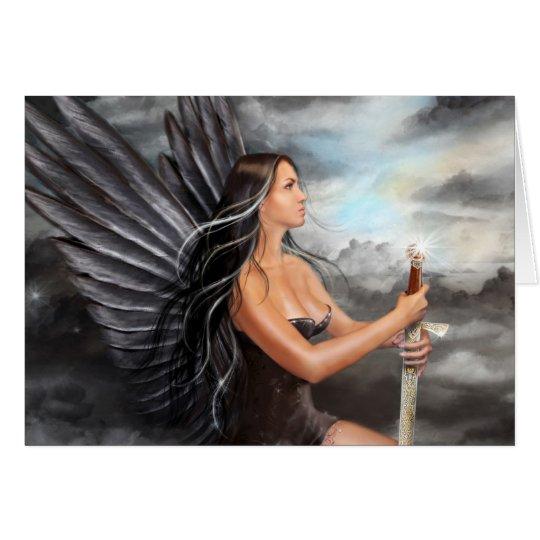 "Card ""Black Angel  """