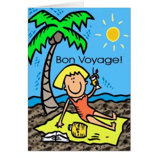 Card: Bon Voyage