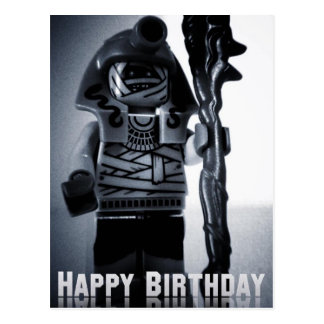 Card by Customize My Minifig Postcard