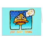 Card, Cards - Just DUCKY Thanks